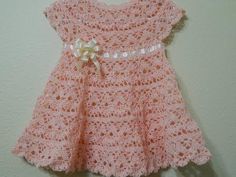 Vestido para Bebe y cualquier talla parte 1 de 2