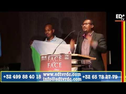 FACE A FACE TSHISEKEDI DIASPORA: LA LECON D'UN DJIBOUTIEN AUX CONGOLAIS.