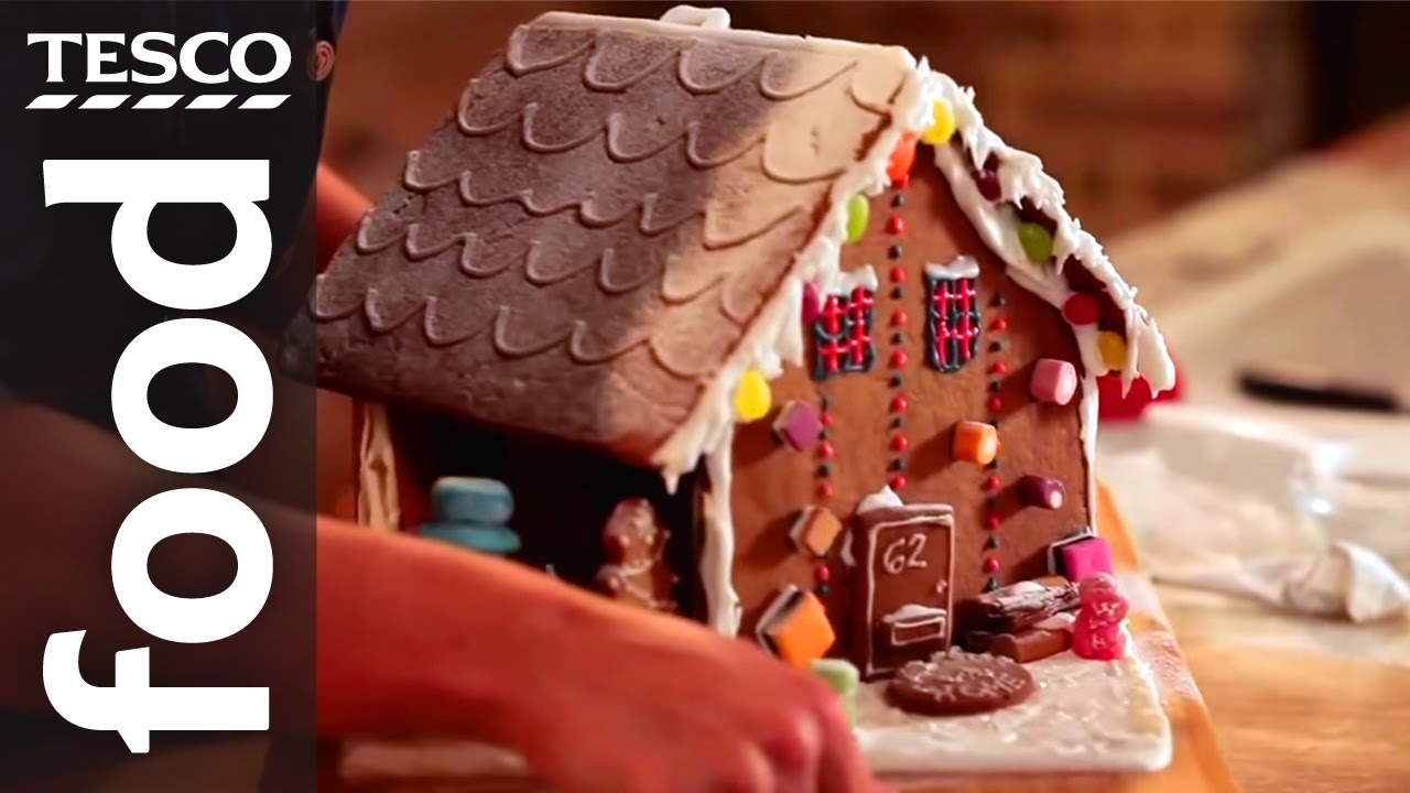 How to make a gingerbread house - YouTube