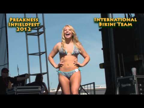Bikini Contest at Preakness 2012