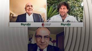 A chat with the legends: Galliani and Albertini