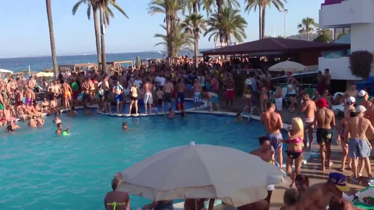 Pool Party Jet Apartments Ibiza Youtube
