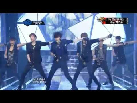 120517 Infinite - The Chaser @ MNET [HD]
