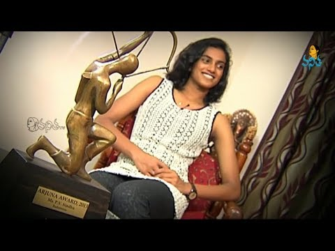 P.V. Sindhu - Indian Badminton Player | Shakthi - Navaratri Special Program on 07-10-2013
