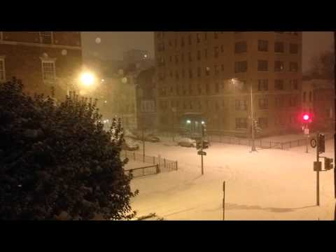Timelapse Snowstorm Washington DC
