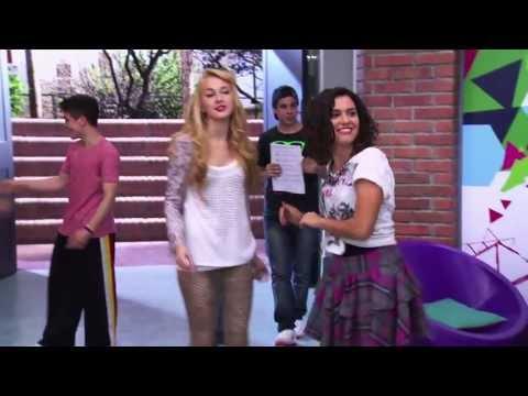 Violetta 2 - Los chicos bailando en el studio On Beat