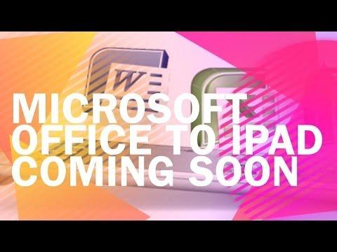 Microsoft Office to iPad coming soon