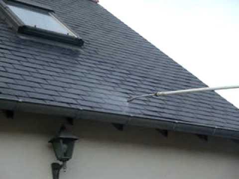 Pulverisation demoussage toit mpg youtube - Pulverisateur electrique toiture ...