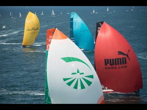 Volvo Ocean Race - Bretagne In-Port Race Live Replay 2011-12