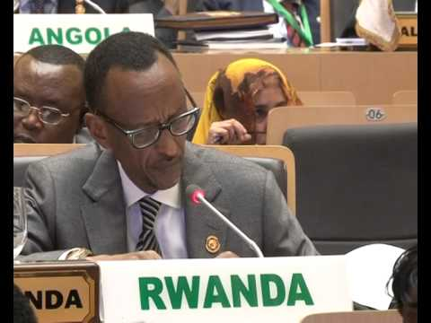 President Kagame speaks on Peace and Security at African Union Summit- Addis Ababa, 30 January 2014