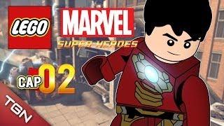 """LEGO MARVEL SUPER HEROES: """"SPIDERMAN AL RESCATE"""" #2 ( Gameplay en Español )"""