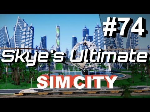 SimCity LP CoT #74 - More Ideas For The Pyramid City! - Skye's Let's Play SimCity