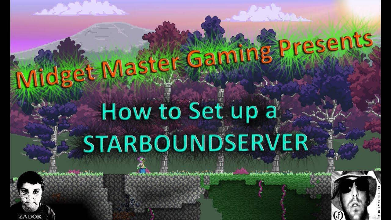 how to set up a gmod server