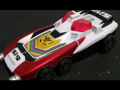 đồ chơi siêu nhân hải tặc Power Rangers Super Megaforce 파워레인저 캡틴포스 SP 스트라이커 장난감