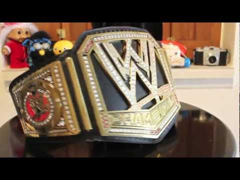2013 WWE CHAMPIONSHIP TITLE  BELT REVIEW