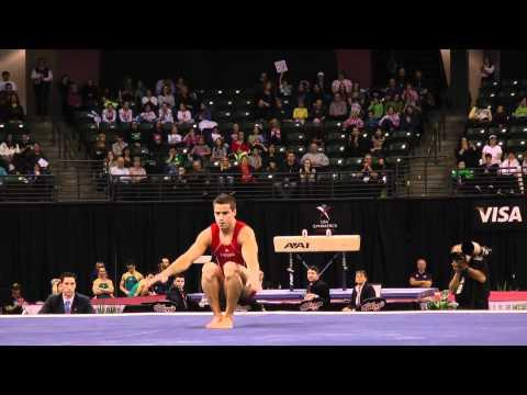 Jake Dalton - Floor Exercise - 2012 Kellogg's Pacific Rim Championships