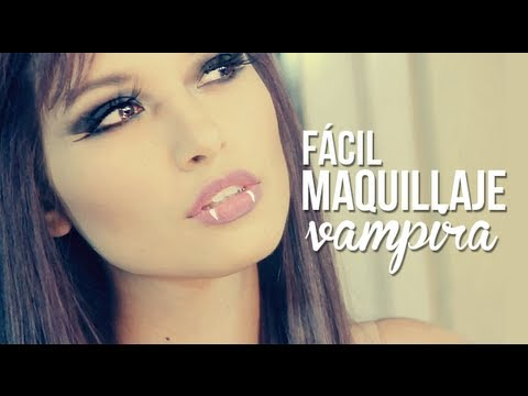 Disfraz y maquillaje: Vampira!