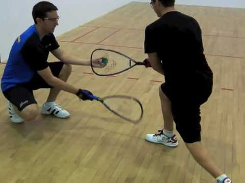 Racquetball Technique: Tricks to improve your Cross Court Pass Backhand