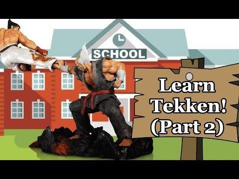 Tekken In-Depth Beginner's Tutorial - GreyMaiden Teaches Pawnce Tekken Part 2