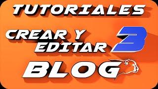Como crear un blog en Blogger 2014  y editarlo. Parte 3