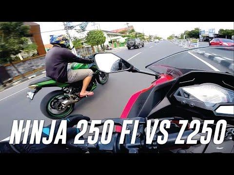Riding pake NINJA 250 FI di fly by Kawasaki Z250