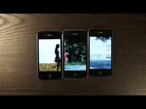 IPhone Wedding Presentation clip