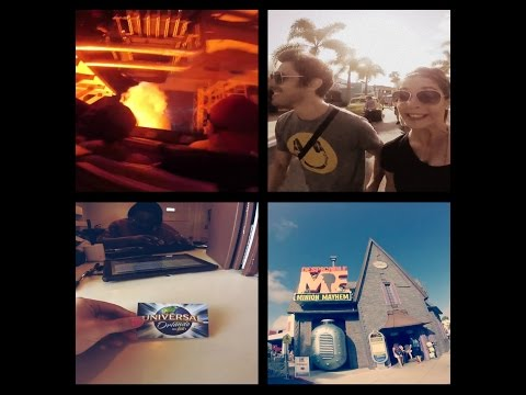 VLOG#3 FLORIDA ( UNIVERSAL, PLAYBACK, MR OUILLE)