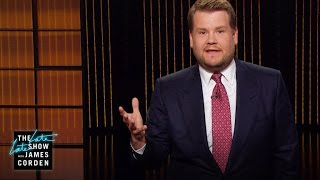 James Corden Pays Tribute to Dave Letterman