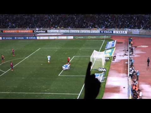 Zurutuza Goal 59' Real Sociedad 3-1 Barcelona