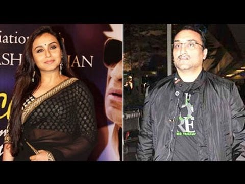 Just married: Rani Mukerji, Aditya Chopra