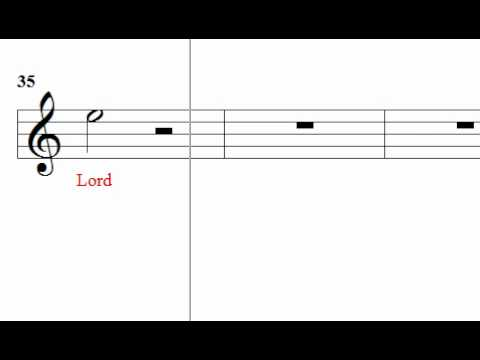 Handel - Israel in Egypt - I will sing un to the Lord. Pt 18
