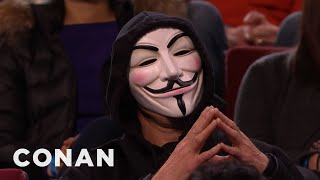 Anonymous Goes After Conan O'Brien
