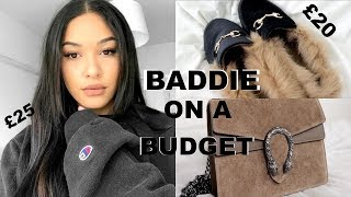 HOW TO DRESS LIKE A BADDIE ON A BUDGET | INSTAGRAM TRENDS FOR LESS