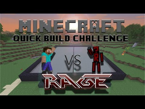 Minecraft Quick Build Challenge - Pistons!