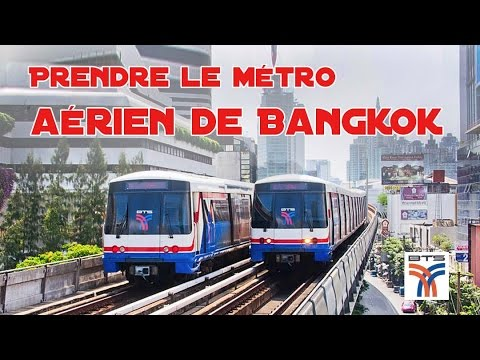 bts, métro aérien de bangkok
