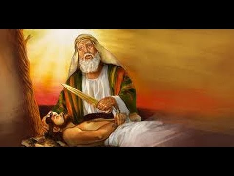 an analysis of the message in the story of abraham and isaac in the bible Genesis: isaac and jacob chapters 25:19-36:42 jacob and esau: chapter 25:19–34 in the hebrew culture, a woman's inability to have children was a reproach it.