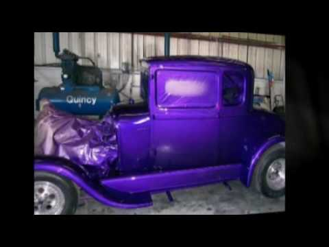 Blue To New Classic Restoration Maaco Auto Painting Youtube