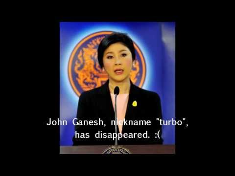 Yingluck Shinawatra Official Press Conference on Disappearance of John