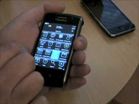 jkOnTheRun- Blackberry Storm overview