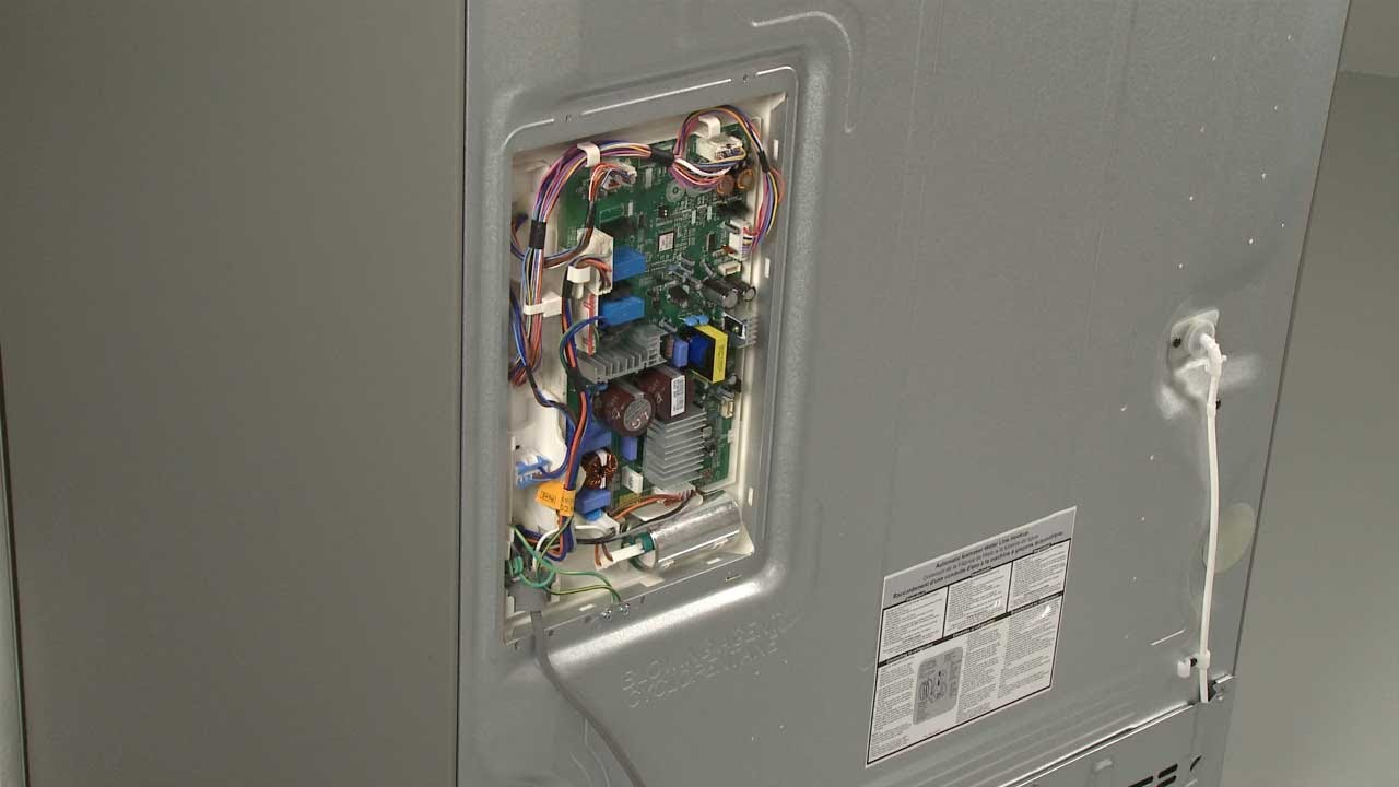 defrost control wiring diagram refrigerator main    control    board replacement     lg  refrigerator main    control    board replacement     lg