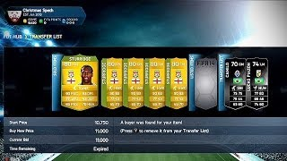 FIFA 14 Ultimate Team How To Make 500k In A Day (FIFA 14