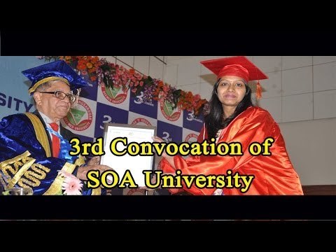 3rd Convocation of SOA University