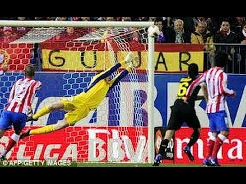 Thibaut Courtois | Atletico Madrid (Chelsea) | Best Saves | 2012/2013