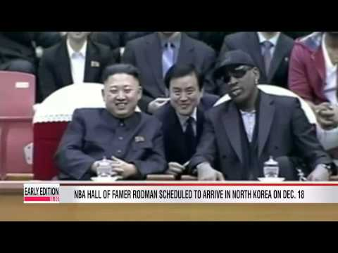 Rodman heading back to N. Korea to train basketball team
