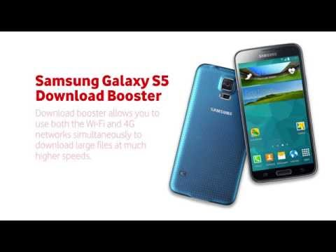 How to use the Samsung Galaxy S5 Download Booster