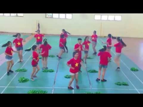 SHOWTIME ENT. aerobics :x nhất khối 1 ktqt ftu k52 :3