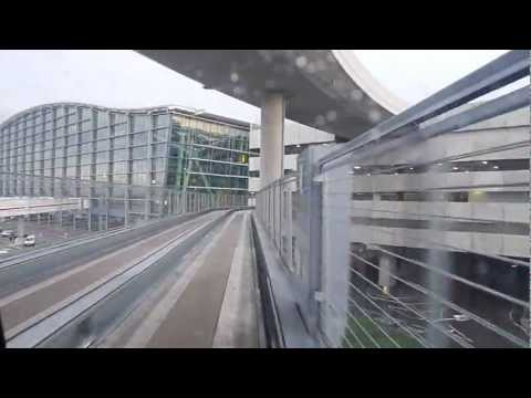London Heathrow Pods - full ride from Business Car Park B to Terminal 5