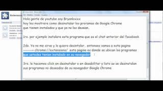Como Desinstalar Un Programa De Google Chrome