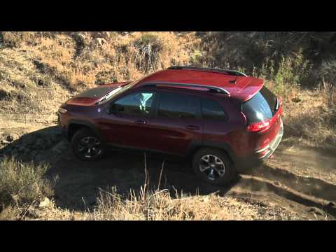 Off-roading with the 2014 Jeep Cherokee Trailhawk