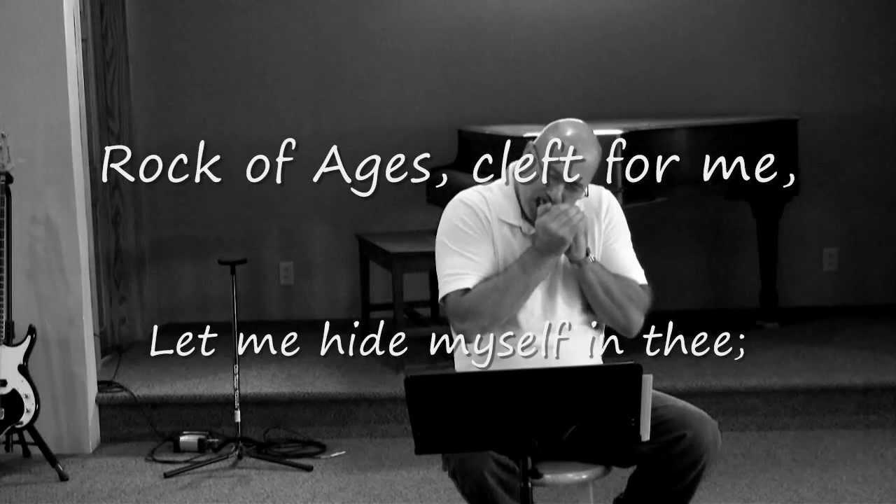 Hymn (Rock of Ages) by Gospel Harmonica. Lyrics added. - YouTube